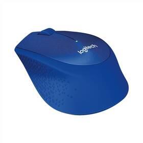 Logitech Wireless Mouse M330 Silent Plus (910-004910) modrá