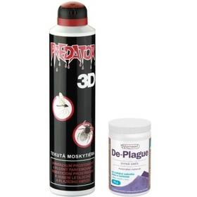 Predator repelent 3D 300ml spray + Prášek De-plague 50g ZDARMA Prášek Vitar Nomaad De-plague 50g (zdarma)