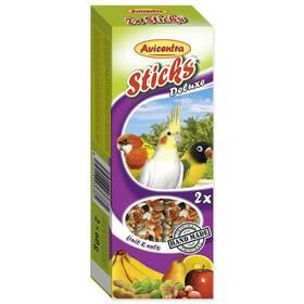 Avicentra Tyčinka malý papoušek ovoce-ořech. 2 ks