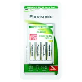 Panasonic BQ-CC17 Andvanced + AA, 1 900 mAh, 4 ks (K-KJ17MGD40E)