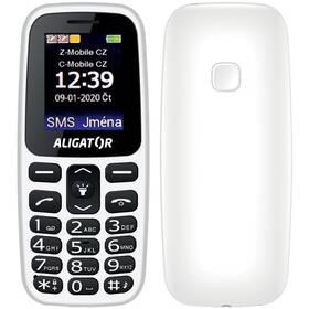 Aligator A220 Senior Dual SIM (A220WT) bílý