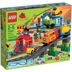 Lego® DUPLO Město 10508 Vláček deluxe + Stavebnice Lego® Minifigurky 71012 Confidential v hodnotě 79 Kč jako dárek + Doprava zdarma