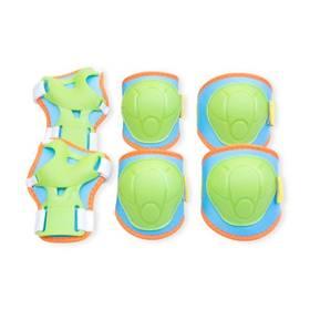 Spokey BUFFER dětské - 3-dílná sada velikost XS zelená barva