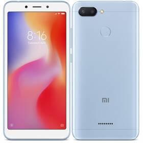 Xiaomi Redmi 6 Dual SIM 3GB/32GB (18985) modrý SIM s kreditem T-Mobile 200Kč Twist Online Internet (zdarma)Software F-Secure SAFE, 3 zařízení / 6 měsíců (zdarma)