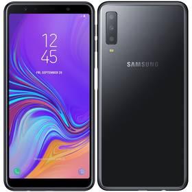 Samsung Galaxy A7 Dual SIM (SM-A750FZKUXEZ) černý SIM s kreditem T-Mobile 200Kč Twist Online Internet (zdarma)