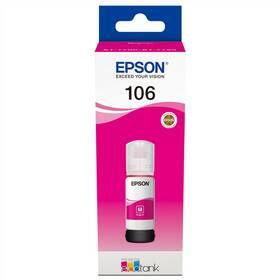 Epson EcoTank 106, 70 ml (C13T00R340) červená
