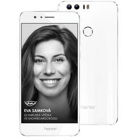 Honor 8 Dual SIM bílý SIM s kreditem T-Mobile 200Kč Twist Online Internet (zdarma)Software F-Secure SAFE 6 měsíců pro 3 zařízení (zdarma) + Doprava zdarma