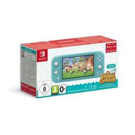 Nintendo Switch Lite + Animal Crossing: New Horizons + Nintendo SWITCH online předplatné na 3 měsíce (NSH130) modrá
