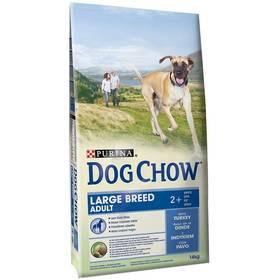Purina Dog Chow Adult Velká plemena krůta 14 kg + Doprava zdarma
