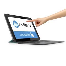 HP Pavilion X2 10-K000 Touch (K7Q31EA#BCM) stříbrný/modrý