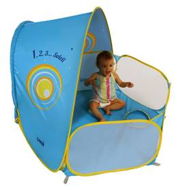 Stan UV Ludi a hrací ohrádka pro miminko modrý