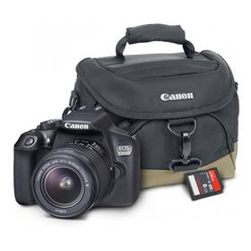 Canon EOS EOS 1300D + EF-S 18-55 DC III Value Up Kit černý + Doprava zdarma