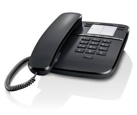 Domáci telefón Siemens Gigaset DA310 (S30054-S6528-R601) čierny