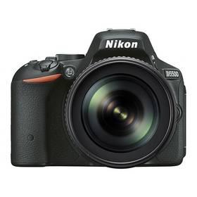 Nikon D5500 + 18-105mm VR černý + Doprava zdarma