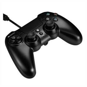 Canyon pro PS4, drátový (CND-GP5) černý