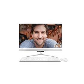 PC all in-one Lenovo IdeaCentre AIO 510S-23ISU Touch (F0C3002SCK) strieborný