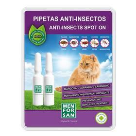 Pipety Menforsan antiparazitní pro kočky 2 ks