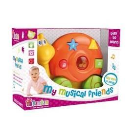 Hudobná hračka Bam Bam - šnek