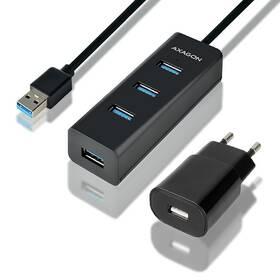 Axagon USB / 4 USB 3.0, adaptér, 1,2 m (HUE-S2BP) černý