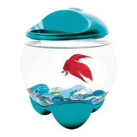 Tetra Akvárium Betta Bubble 1,8l modré/sklo/plast