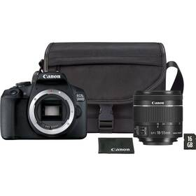 Canon EOS 2000D + 18-55 mm DC + VUK (2728C054) čierny