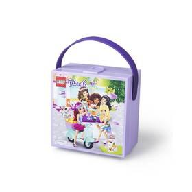 LEGO® Box na svačinu LEGO® Friends s rukojetí fialový