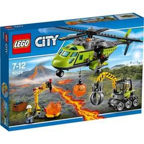 Stavebnica Lego® City Sopeční průzkumníci 60123 Sopečná zásobovací helikoptéra
