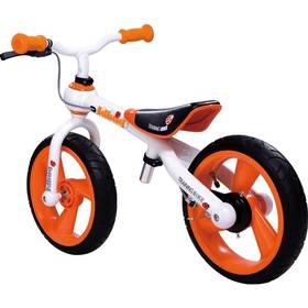 Jd Bug Training Bike oranžové + Reflexní sada 2 SportTeam (pásek, přívěsek, samolepky) - zelené v hodnotě 58 Kč + Doprava zdarma
