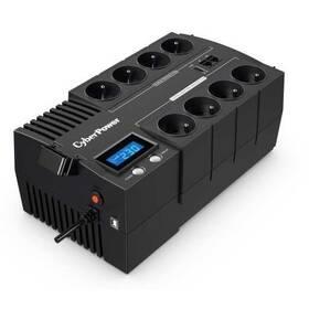 Cyber Power Systems BRICs Series II SOHO LCD UPS 1200VA/720W, české zásuvky (BR1200ELCD-FR)