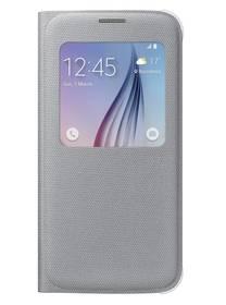 Samsung S-View pro Galaxy S6 (EF-CG920BS) (EF-CG920BSEGWW) stříbrné