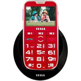 Mobilní telefon Tesla SimplePhone A50 (TAMBPSNA50RD) červený (vrácené zboží 8800220527)
