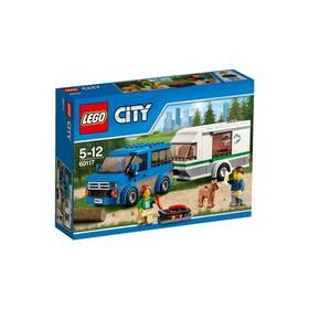 LEGO® City Great Vehicles 60117 Dodávka a karavan