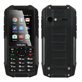 Evolveo StrongPhone X4, vodotěsný odolný Android smartphone s klávesnicí (SGP-X4) černý + Doprava zdarma
