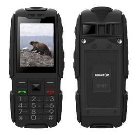 Aligator R20 eXtremo (AR20BB) černý SIM s kreditem T-mobile 200Kč Twist Online Internet (zdarma)