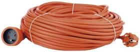 Kábel predlžovací EMOS 1x zásuvka, 40m (1901014000) oranžový