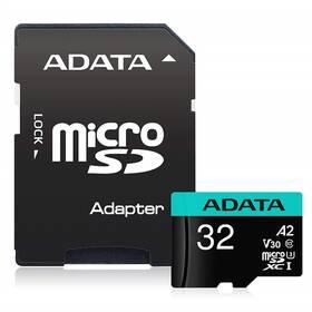 ADATA Premier Pro MicroSDHC 32GB (100R/80W) + adaptér (AUSDH32GUI3V30SA2-RA1)