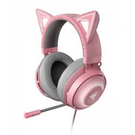 Razer Kraken Kitty Ed. - Quartz (RZ04-02980200-R3M1) růžový