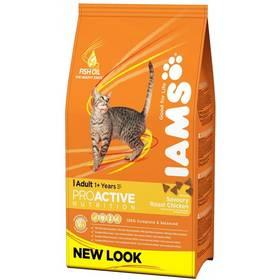 Iams Cat rich in Chicken 15 kg + Doprava zdarma