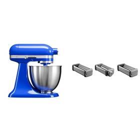 Set KitchenAid - kuchyňský robot 5KSM3311XETB + KPRA sada strojků na těstoviny + Doprava zdarma