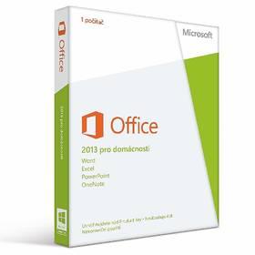 Software Microsoft Office 2013 CZ pro studenty a domácnosti (79G-03683)