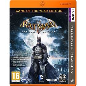 Ostatní PC Batman: Arkham Asylum Game of the Year (428352)