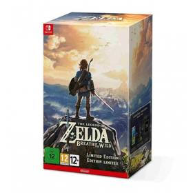 Nintendo SWITCH The Legend of Zelda: BOTW Limited edition (NSS698)
