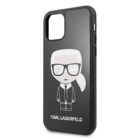 Karl Lagerfeld Glitter Iconic pro Apple iPhone 11 Pro (KLHCN58DLFKBK) černý (poškozený obal 8800381412)