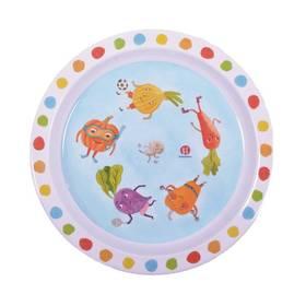 Dětský talíř Petite&Mars, zelenina