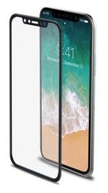 Celly 3D pro Apple iPhone X (3DGLASS900BK) černé