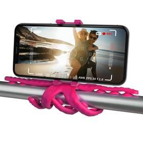 """Celly Squiddy s přísavkami pro telefony do 6,2"""" (SQUIDDYPK) růžový"""