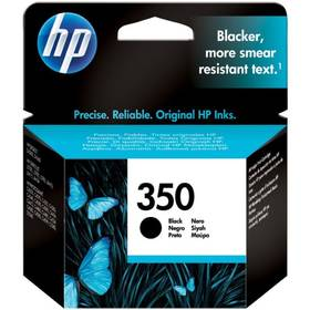 Inkoustová náplň HP No. 350, 4,5 ml - originální (CB335EE) černá