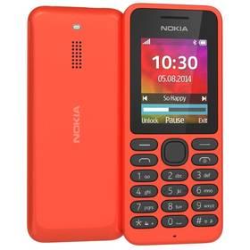 Nokia 130 Dual Sim (A00022156) červený
