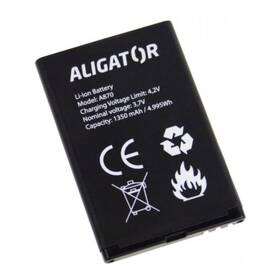 Aligator A800/A850/A870/D920, Li-Ion 1450 mAh (A870BAL) (vrácené zboží 8800837238)