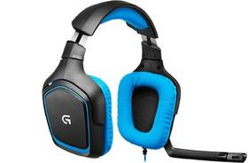 Logitech Gaming G430 (981-000537) modrý + Doprava zdarma